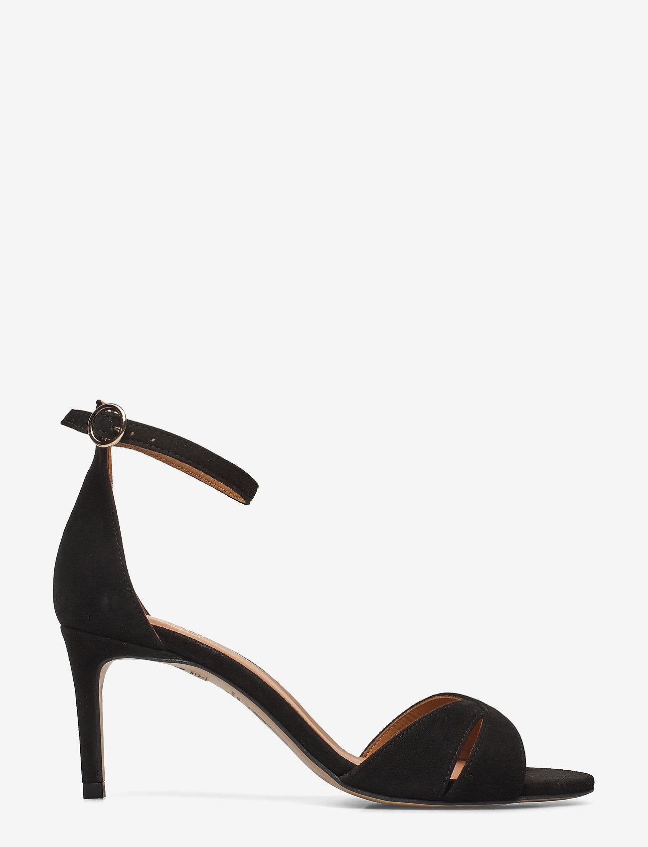 Billi Bi - Sandals 4628 - høyhælte sandaler - black suede 50 - 1