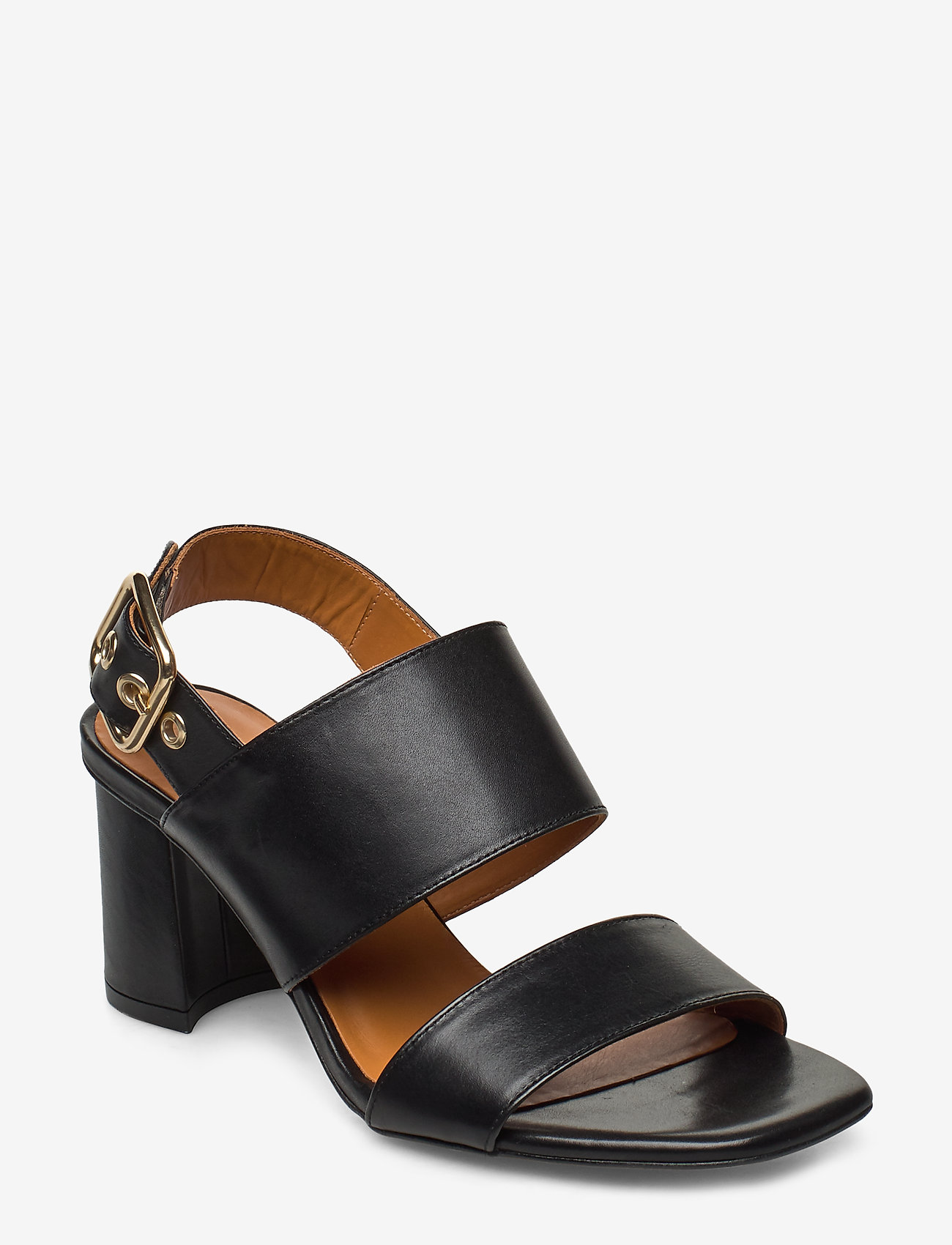 Billi Bi - Sandals 4645 - høyhælte sandaler - black calf 80 - 0
