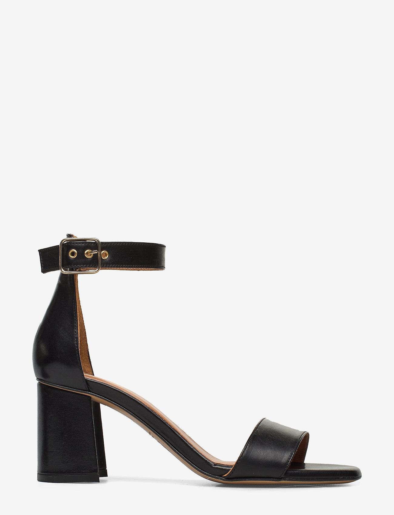 Billi Bi - Sandals 4647 - høyhælte sandaler - black calf 80 - 1