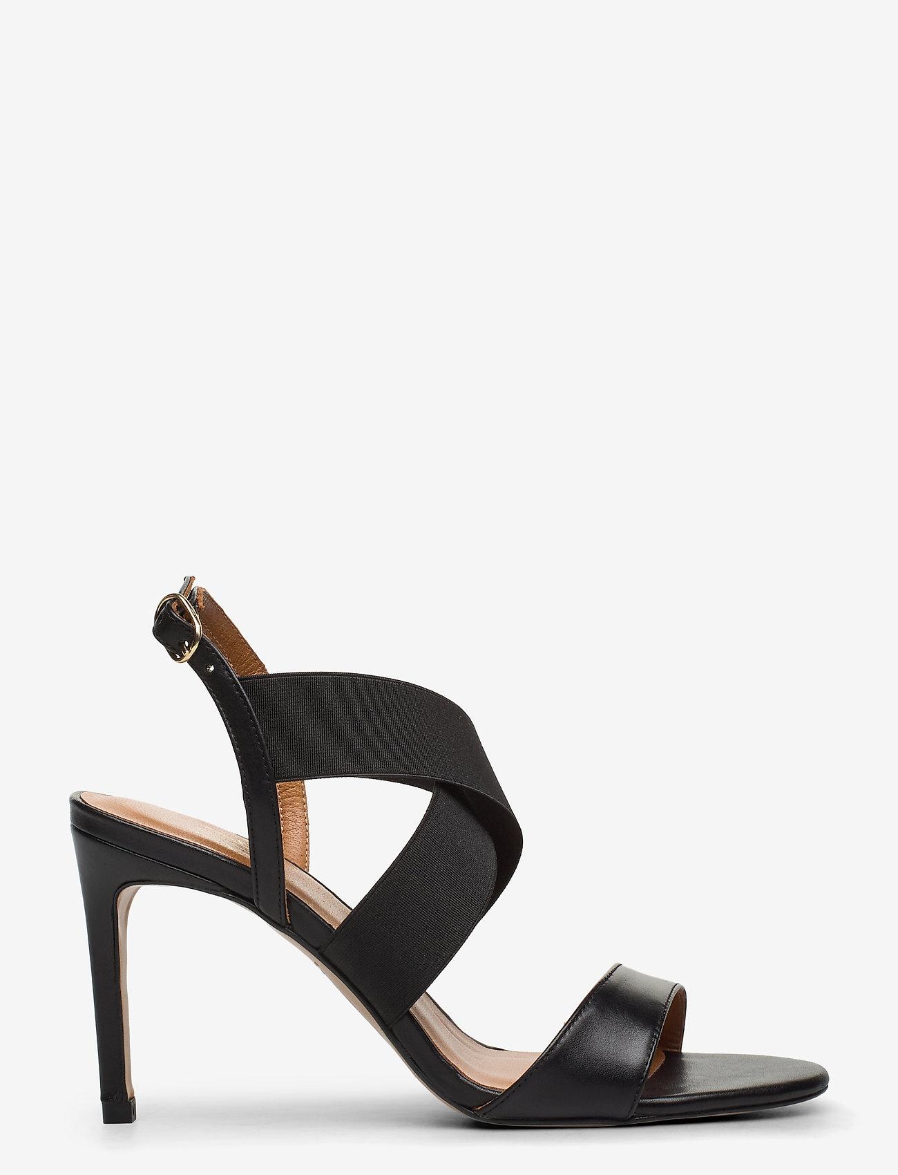 Billi Bi - Sandals 4691 - høyhælte sandaler - black calf/elast. 80 - 1