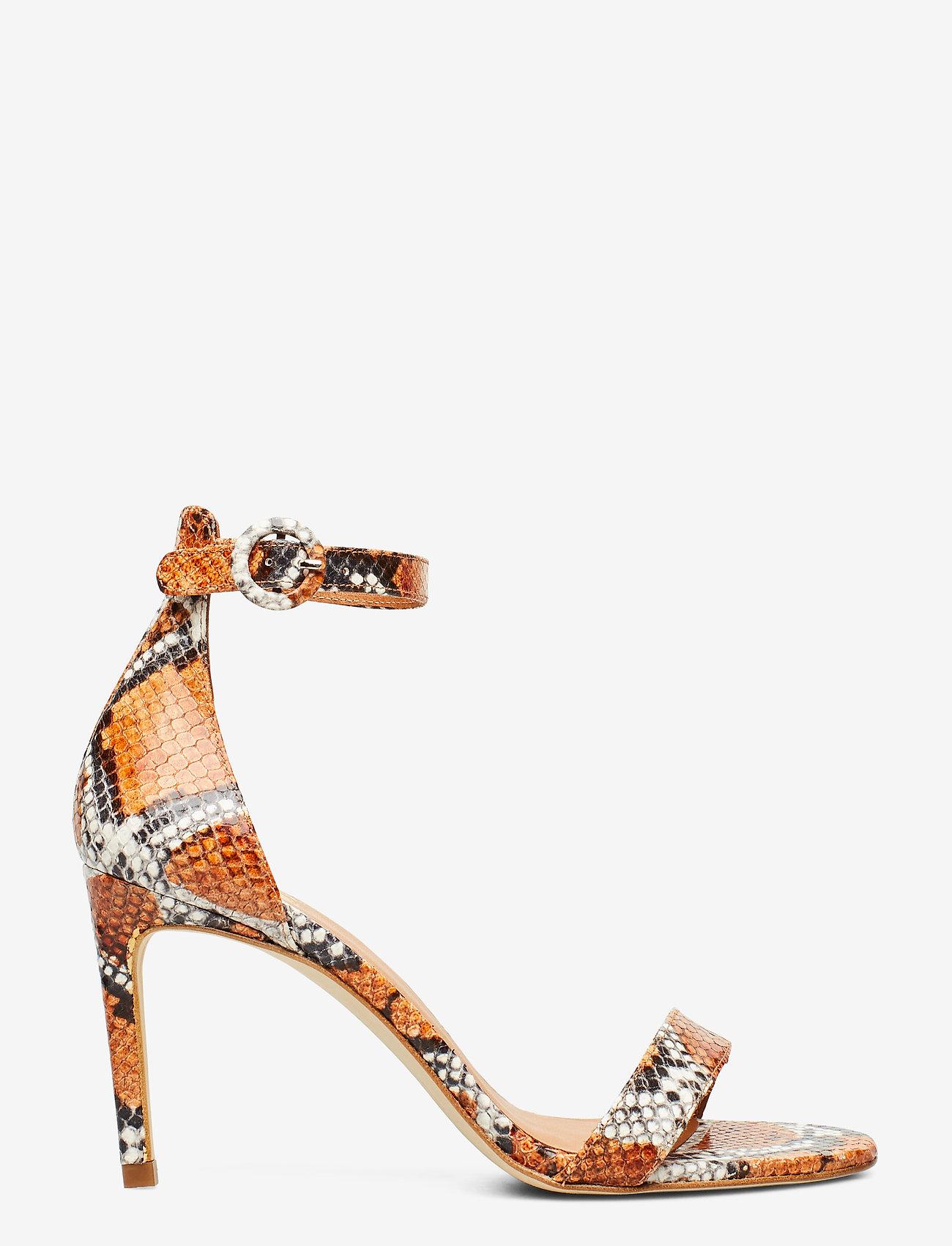 Billi Bi - Sandals 4693 - høyhælte sandaler - orange 944 snake 37 - 1