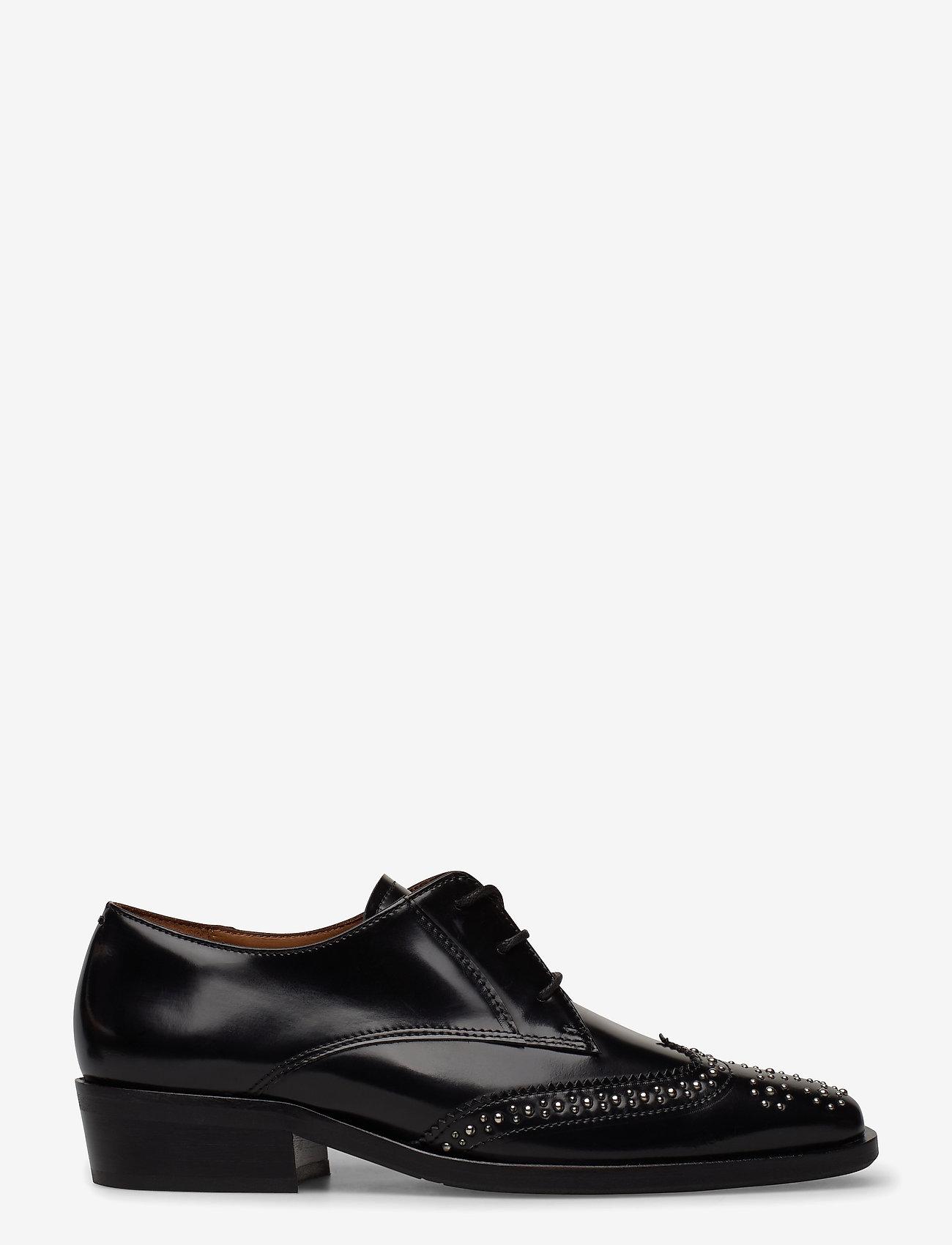 Billi Bi - Shoes 4702 - buty sznurowane - black polido /silver 900 - 1