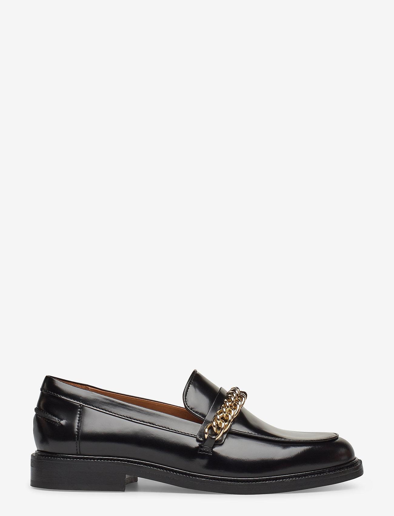 Billi Bi - Shoes 4710 - mokasyny - black polido/gold  900 - 1