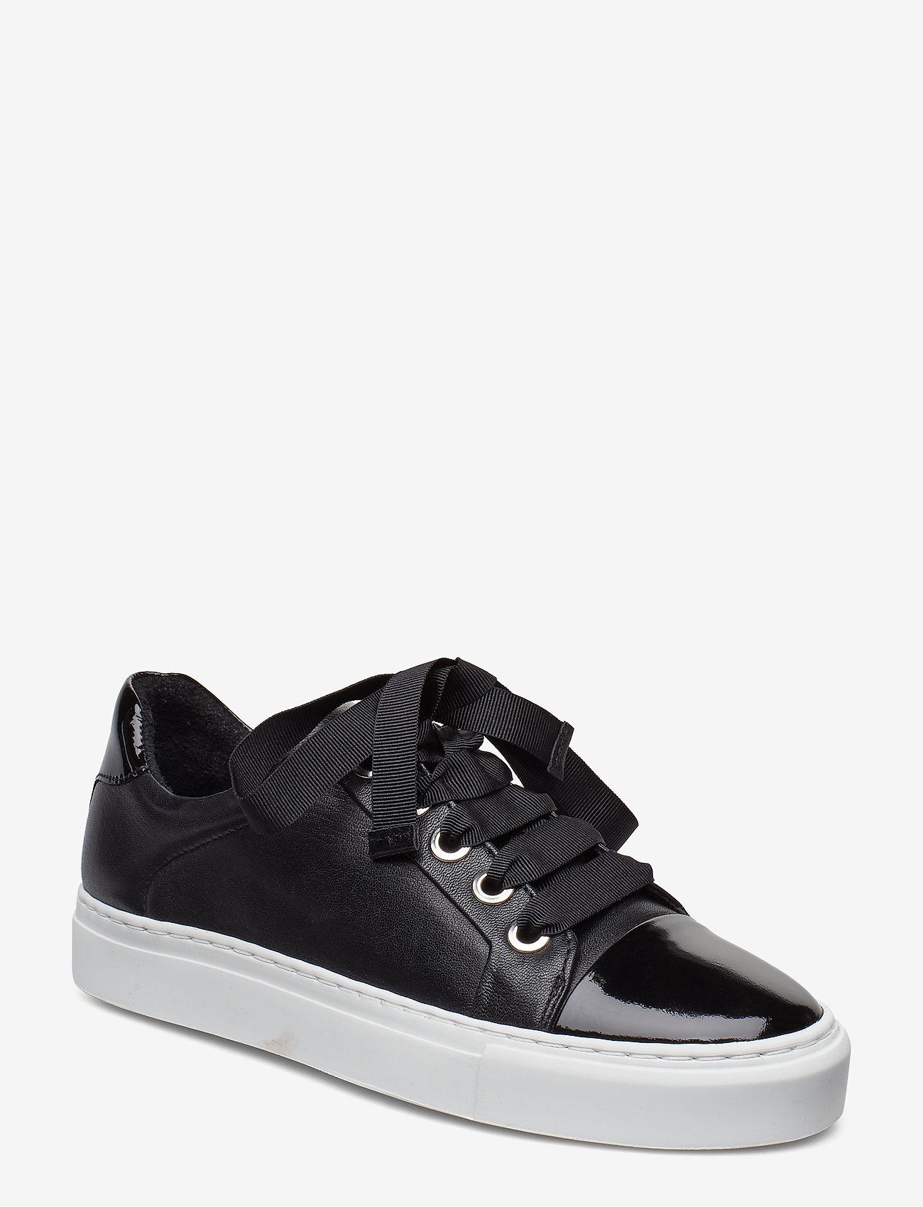 Billi Bi - Sport 4825 - sneakers med lav ankel - black patent/calf/wh. sole 283 - 0