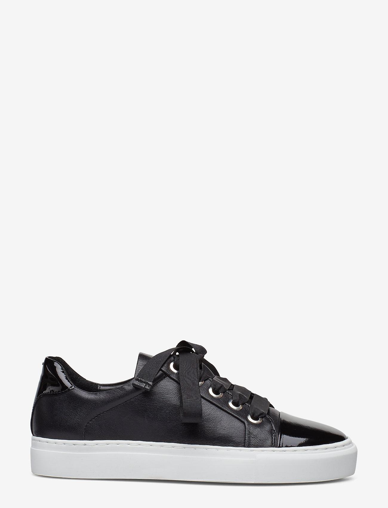 Billi Bi - Sport 4825 - sneakers med lav ankel - black patent/calf/wh. sole 283 - 1