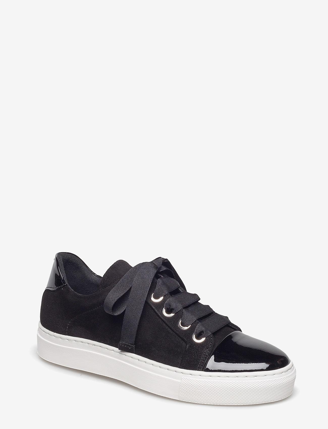 Billi Bi - Sport 4825 - sneakers med lav ankel - bl. patent/bl.sue./wh.sole 240 - 0
