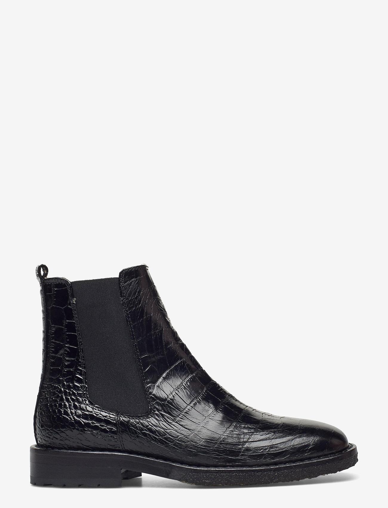 Billi Bi - Boots 4840 - chelsea boots - black luisiana croco 10 - 1