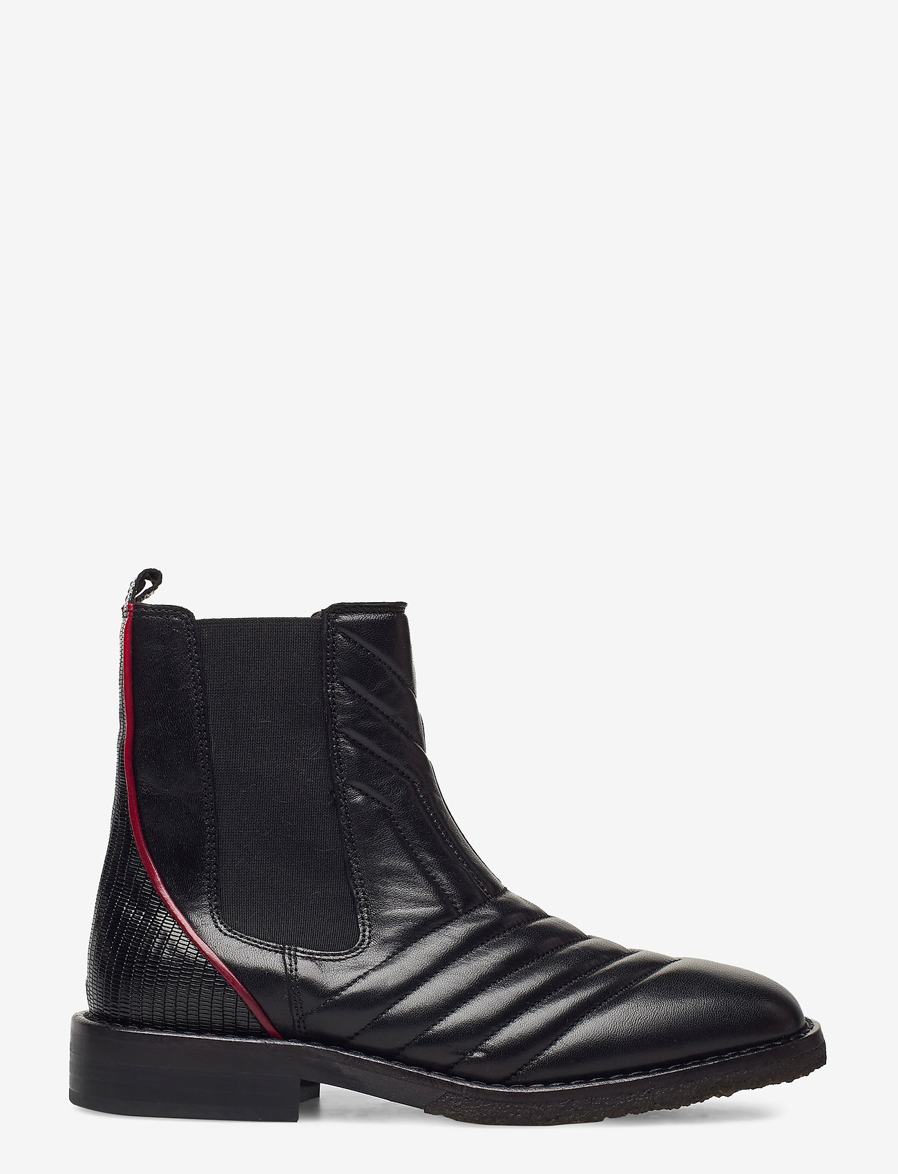 Billi Bi - Boots 4843 - chelsea boots - black nappa/red stripe 70 - 1