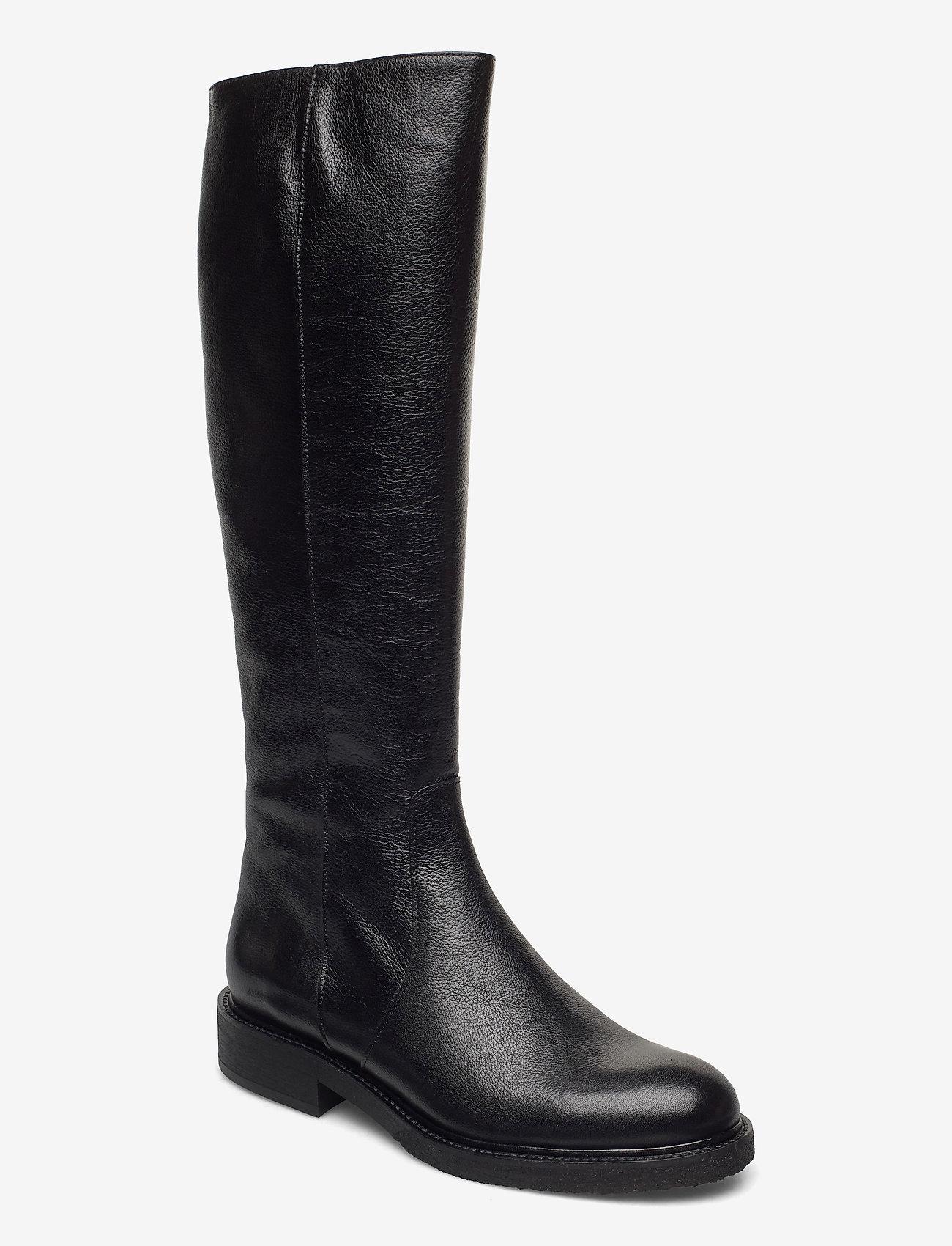 Billi Bi - Long Boots 4854 - höga stövlar - black calf 80 - 0