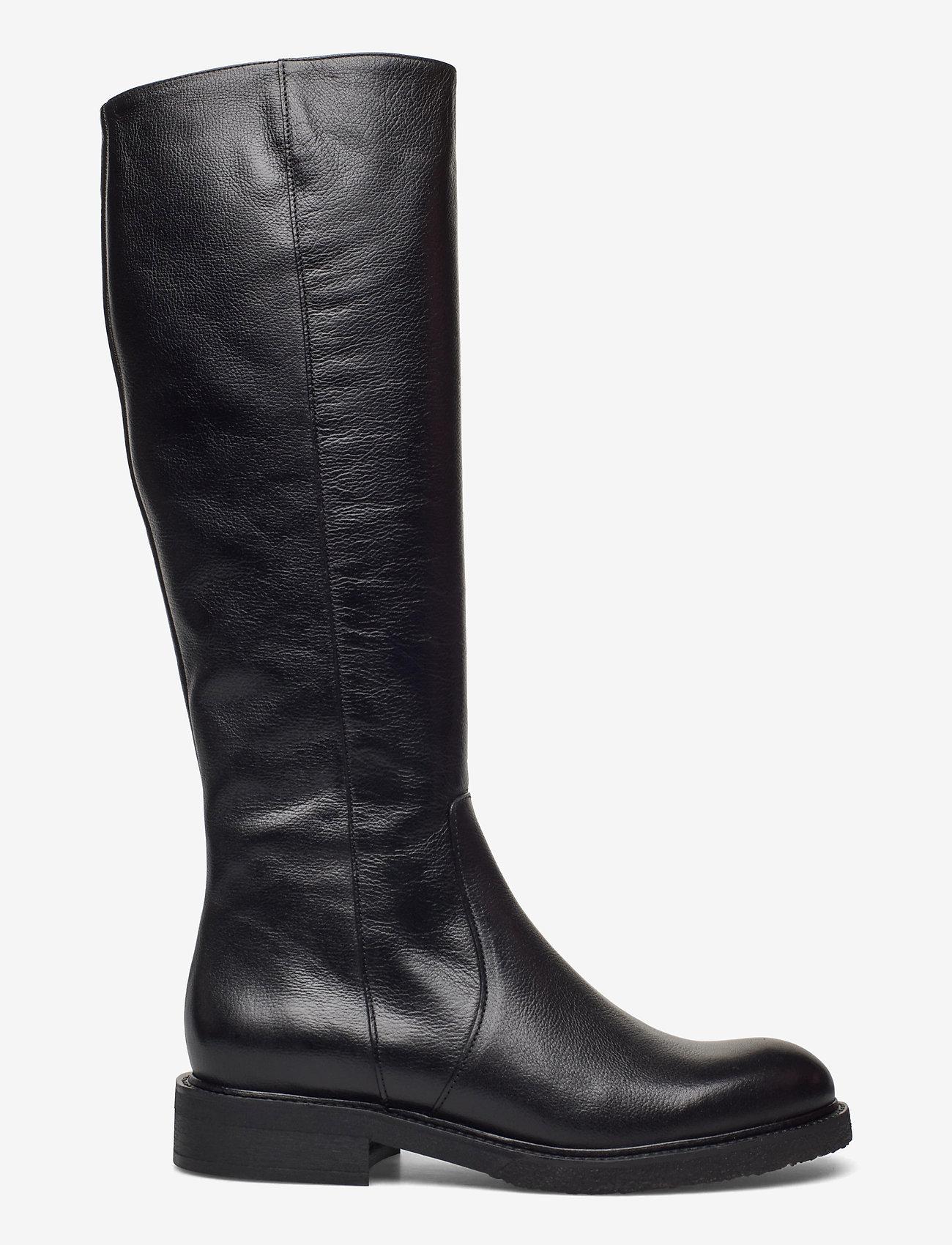 Billi Bi - Long Boots 4854 - höga stövlar - black calf 80 - 1