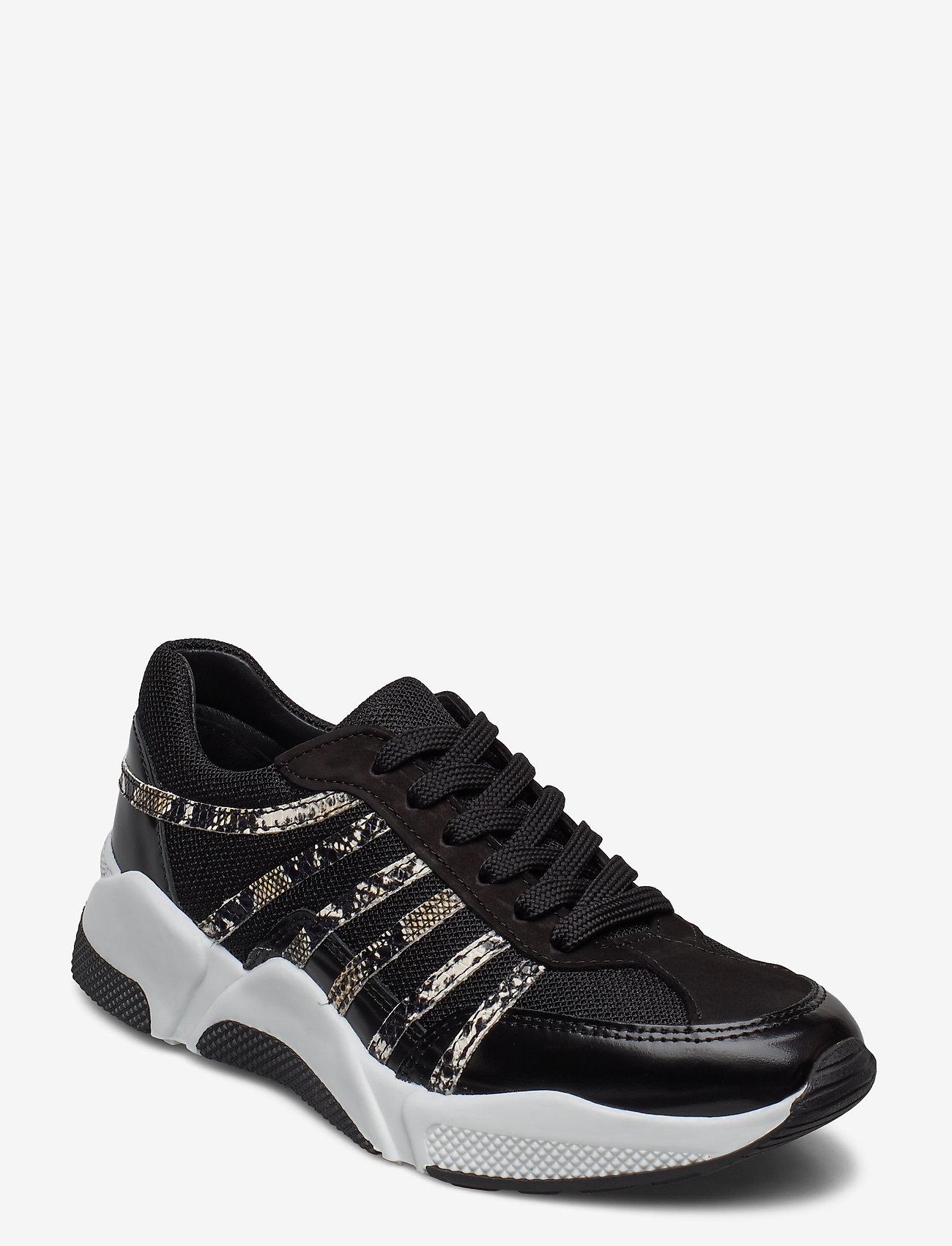 Billi Bi - Sport 4860 - sneakers med lav ankel - black/snake comb. 943 - 0