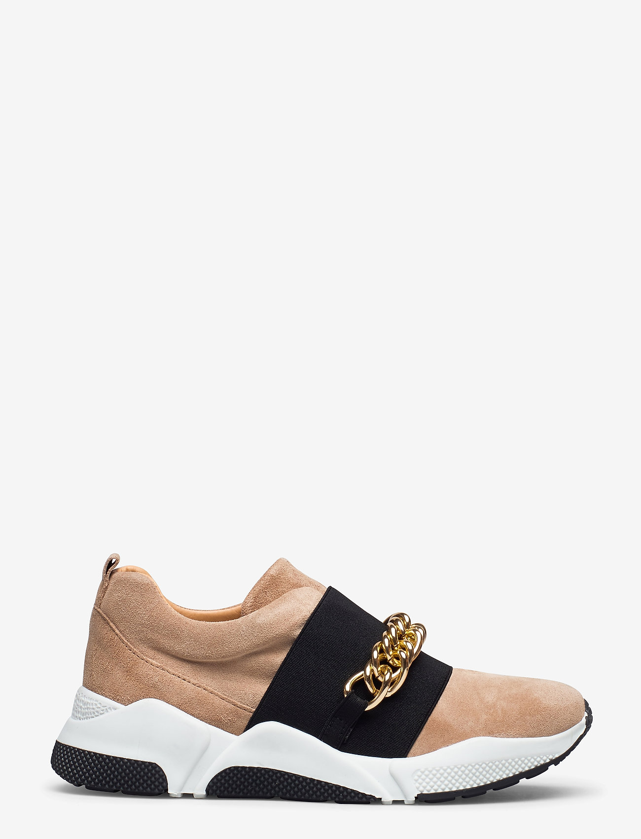 Billi Bi - Sport 4862 - sneakers med lav ankel - camel sue./gold 552 - 1
