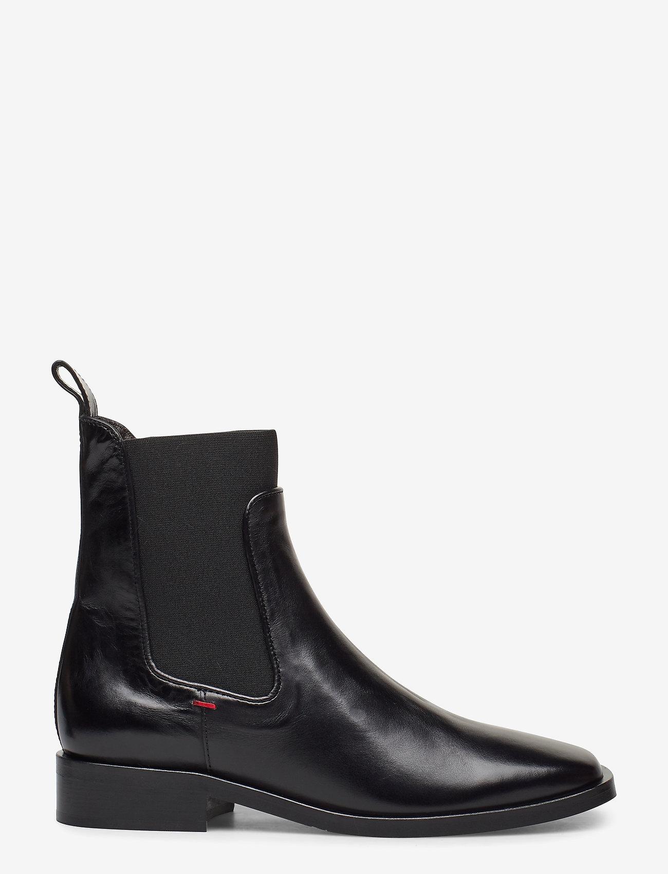 Billi Bi - Boots 4900 - flate ankelstøvletter - black calf 80 - 1