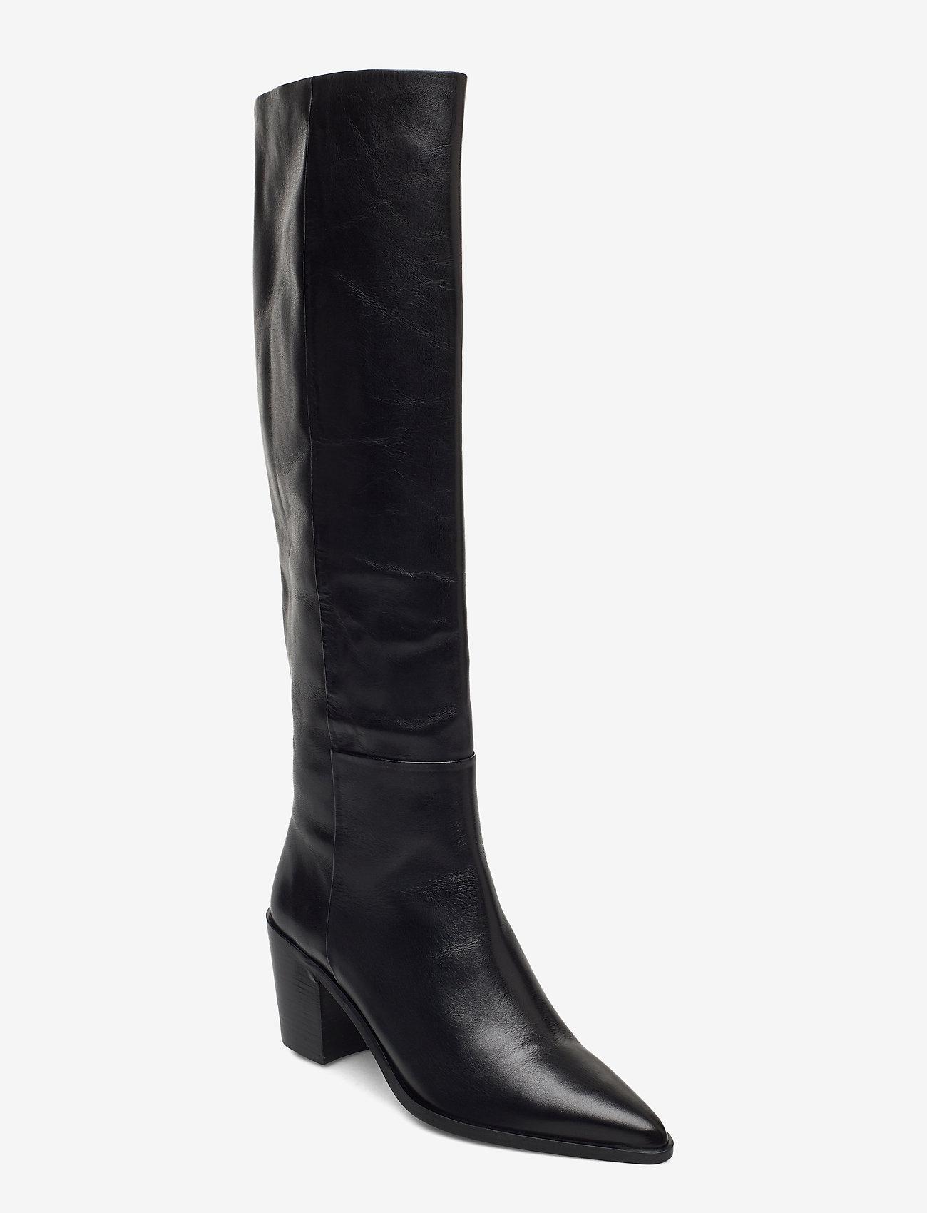 Billi Bi - Boots 4945 - lange laarzen - black calf 80 - 0