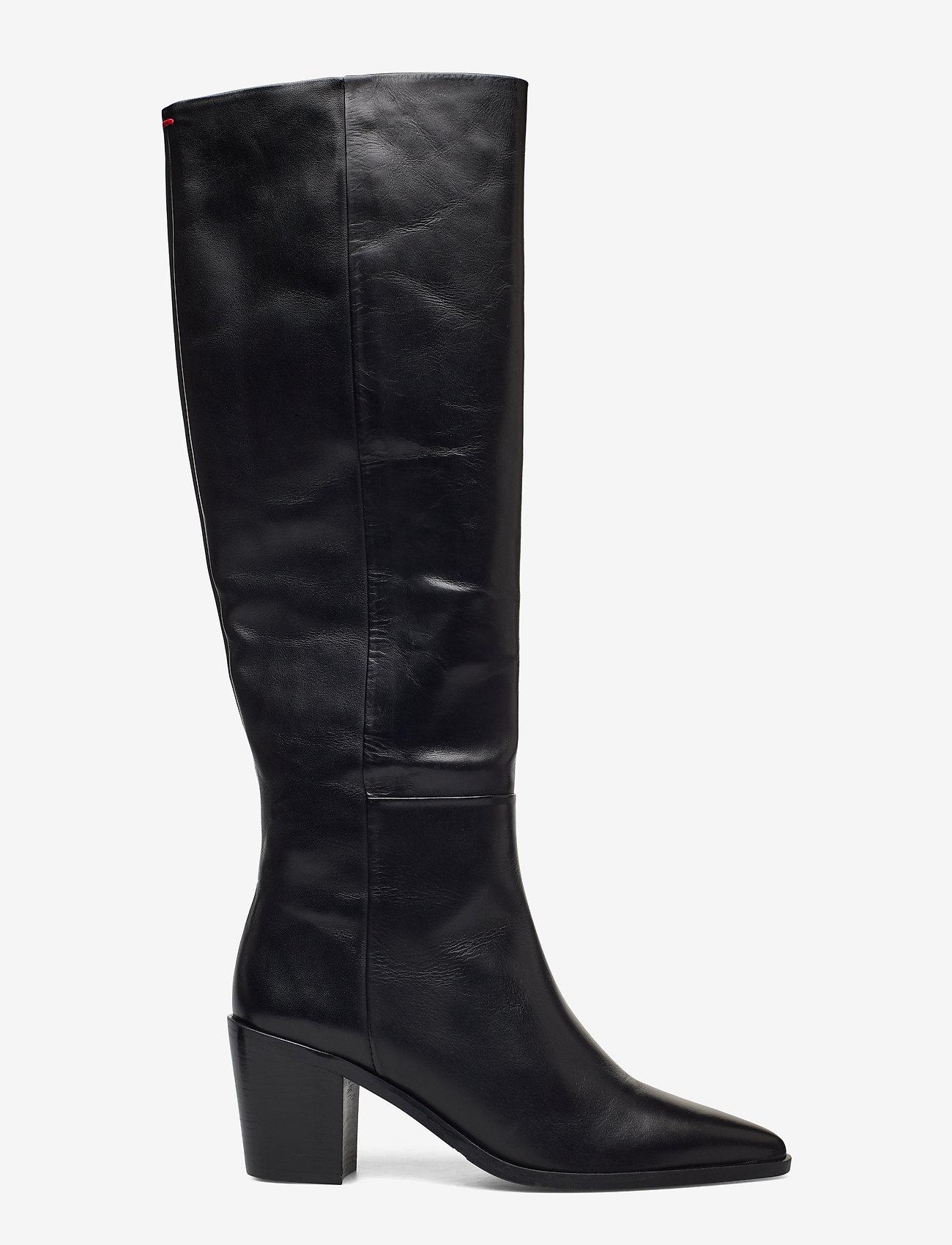 Billi Bi - Boots 4945 - lange laarzen - black calf 80 - 1