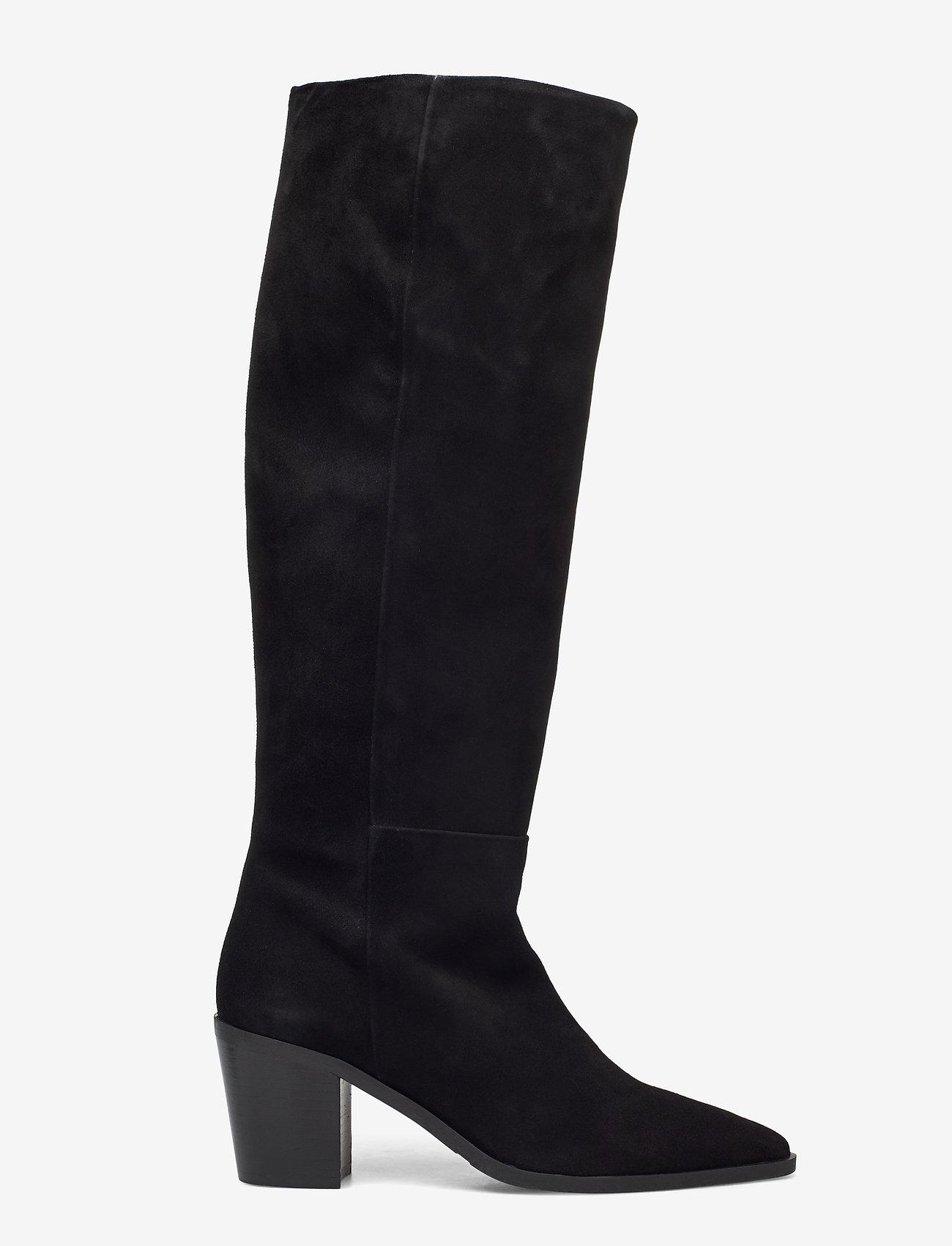 Billi Bi - Boots 4945 - lange laarzen - black suede 50 - 1