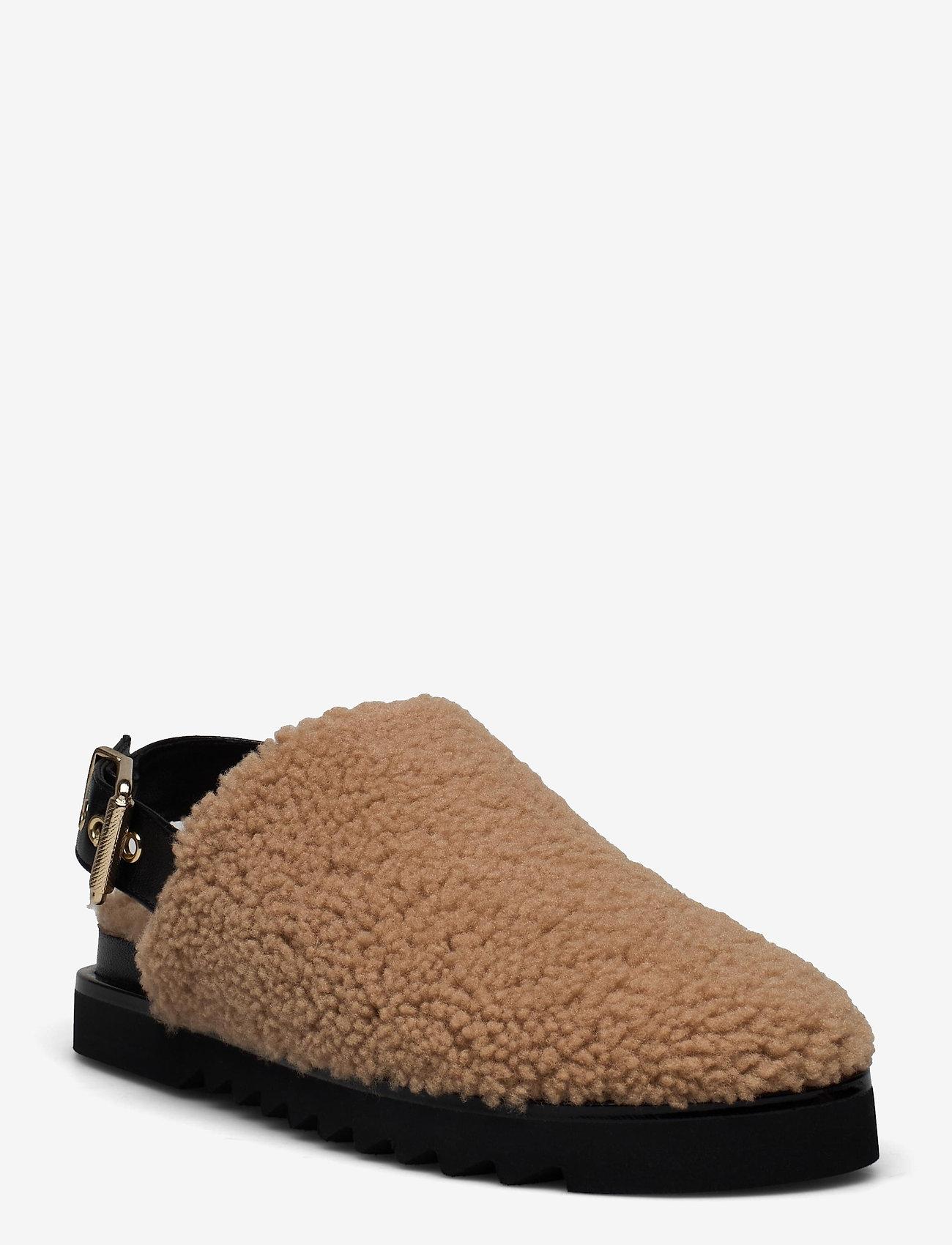 Billi Bi - Slipper  6070 - mules & slipins - nougat lamb/black sole 934 - 1