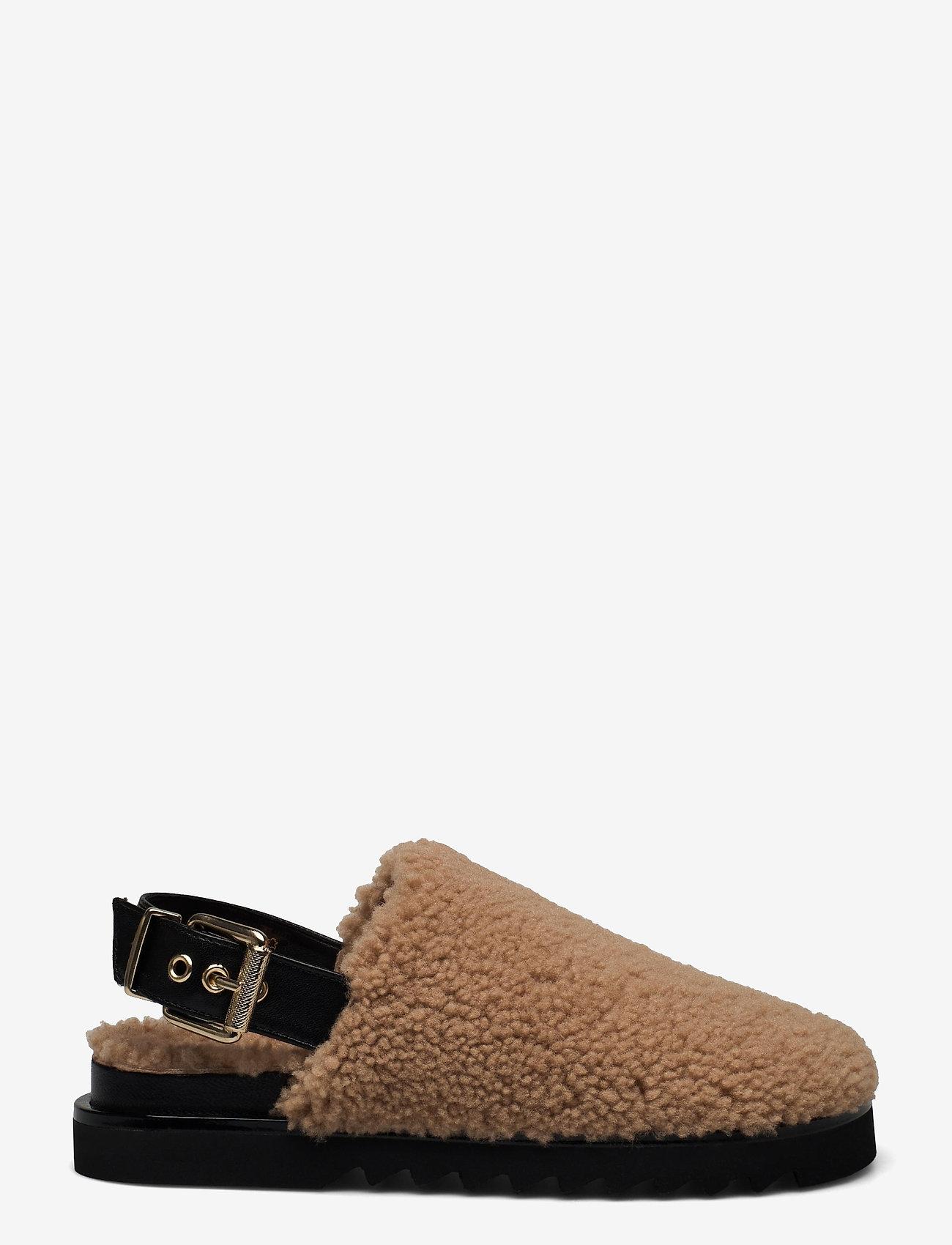 Billi Bi - Slipper  6070 - mules & slipins - nougat lamb/black sole 934 - 0