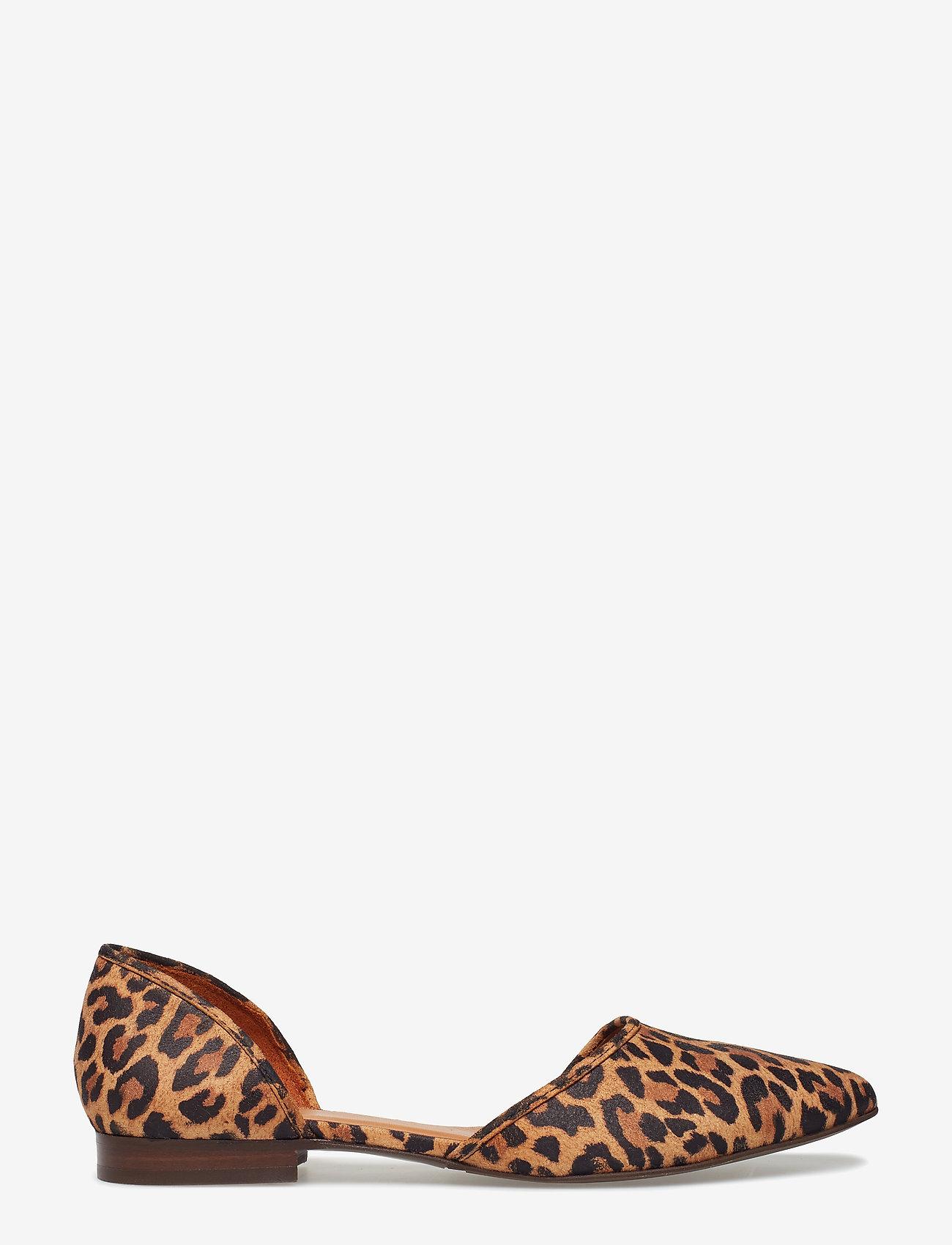 Billi Bi - Shoes 8660 - ballerinasko - leopardo suede 542