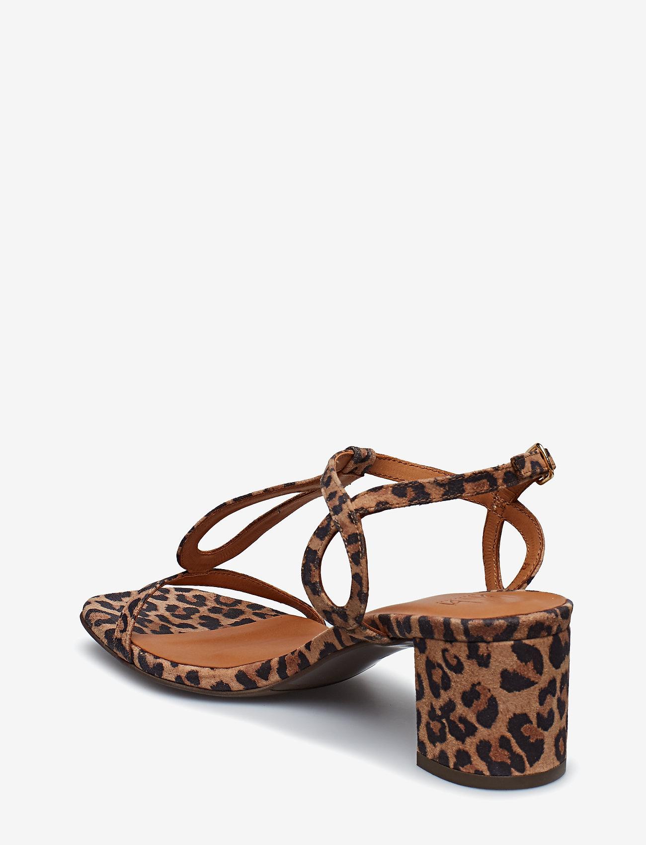 Sandals 8721 (Leopardo Suede 542) - Billi Bi