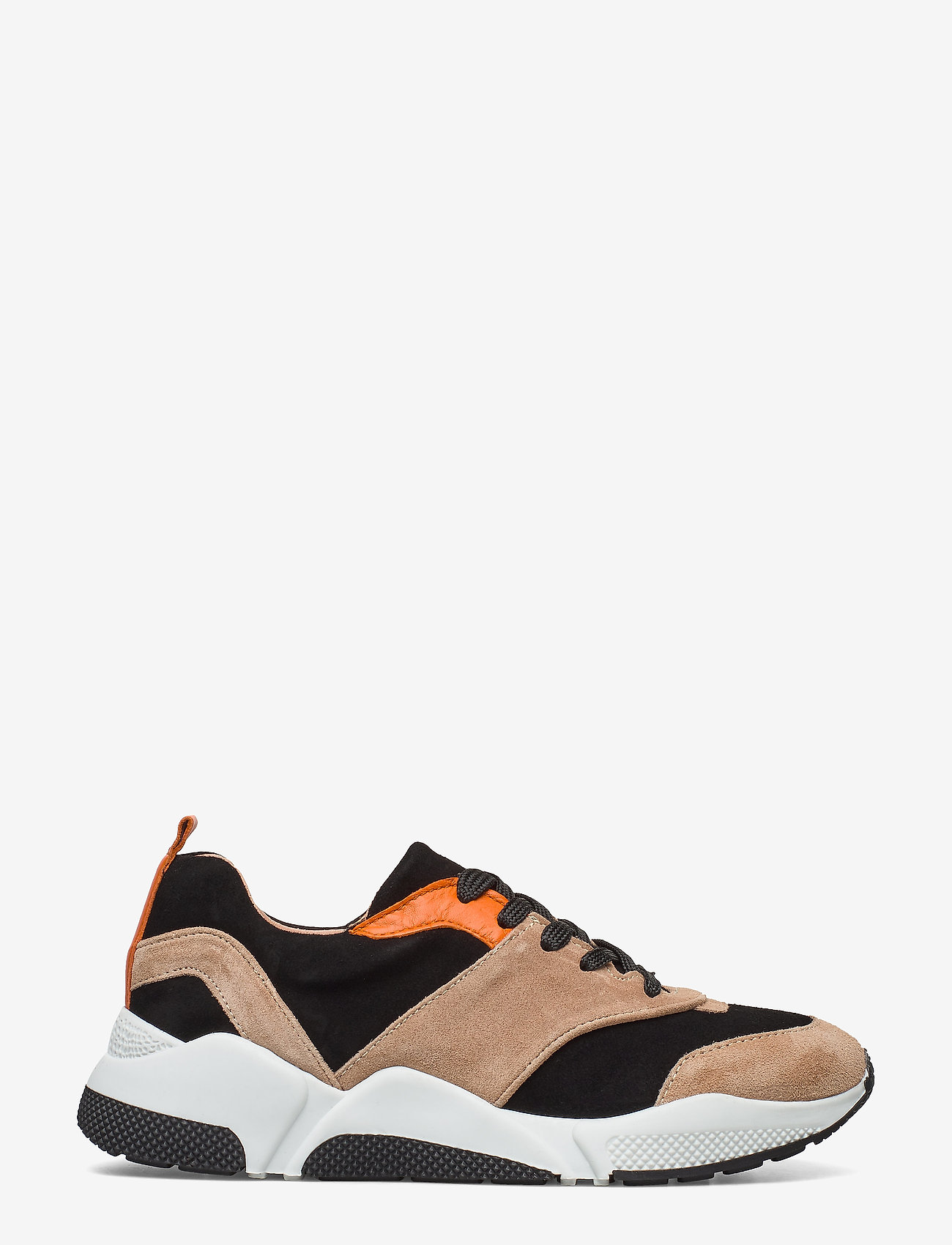 Billi Bi - Sport 8840 - chunky sneakers - beige/black/orange suede 572 - 1