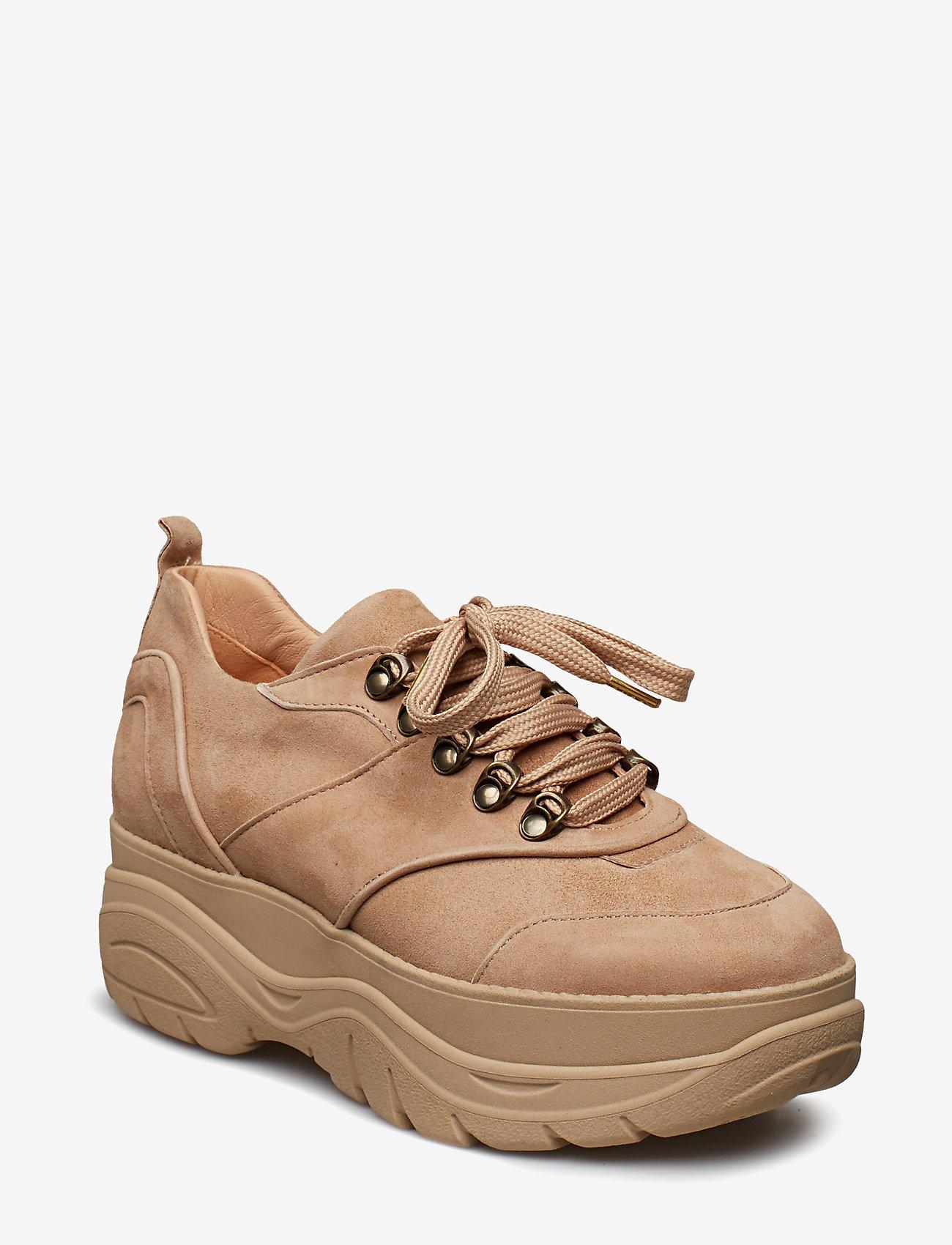 Billi Bi - Sport 8860 - chunky sneakers - dark taupe 1572/taupe sole 572 - 0