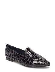 SHOES - BLACK CROCO PATENT 230 P