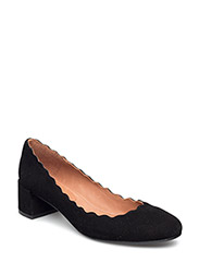 PUMPS - BLACK SUEDE 50