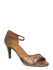 SANDALS - CHAMPAGNE FERRER METAL 002