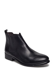 BOOTS - BLACK CALF/BLACK SOLE 60