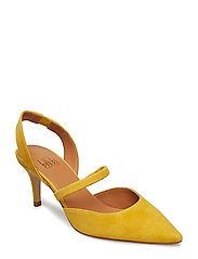 PUMPS - YELLOW 1795 SUEDE 55
