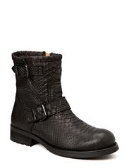 BOOTS - WARM LINING - BLACK PYTON 20