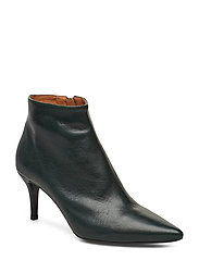 Booties 3350 - BOTTLE GREEN NAPPA 77