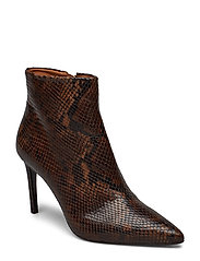 Booties 3360 - BROWN 1029 SNAKE 36