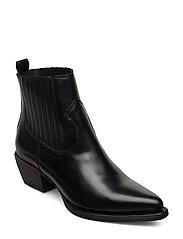 Boots 3610 - BLACK CALF 60