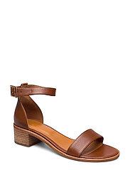 Sandals 4182 - COGNAC BUFFALO/GOLD 852