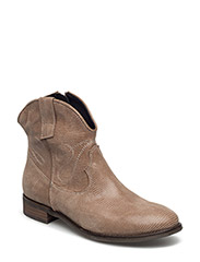 BOOTS - TAUPE LIZARD 37