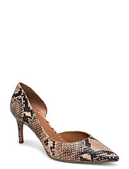 Pumps 4581 - BEIGE 6071 SNAKE 34 P