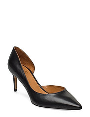 Pumps 4581 - BLACK CALF 80