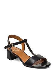 Sandals 4606 - BLACK CALF 80