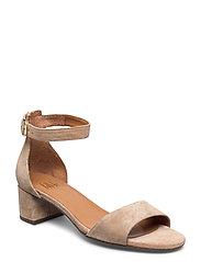 Sandals 4607 - BEIGE BABYSILK SUEDE 552