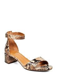 Sandals 4607 - BEIGE 6071 SNAKE 34 P