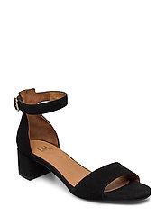 Sandals 4607 - BLACK SUEDE 50