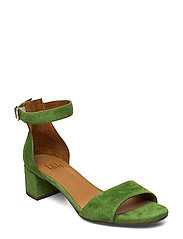 Sandals 4607 - RUCOLA GREEN SUEDE 557