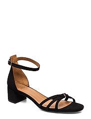 Sandals 4608 - BLACK SUEDE 50