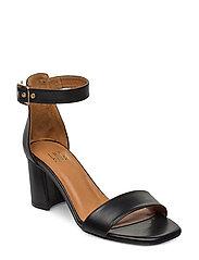 Sandals 4647 - BLACK CALF 80