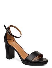 Sandals 4671 - BLACK CALF 80