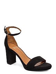 Sandals 4671 - BLACK SUEDE 50
