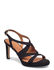 Sandals 4675 - BLACK SUEDE 50
