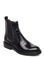 Boots 4759 - BLACK LUISIANA CROCO/BOLIK 010